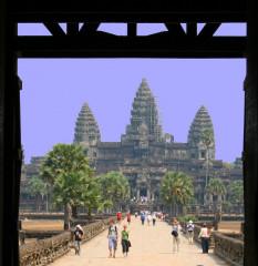 Le temple khmer architecture et symbolique des lieux for Architecture symbolique